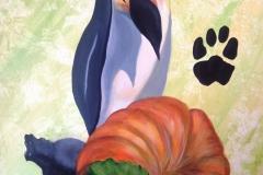 M. Pingouin et Mme la citrouille