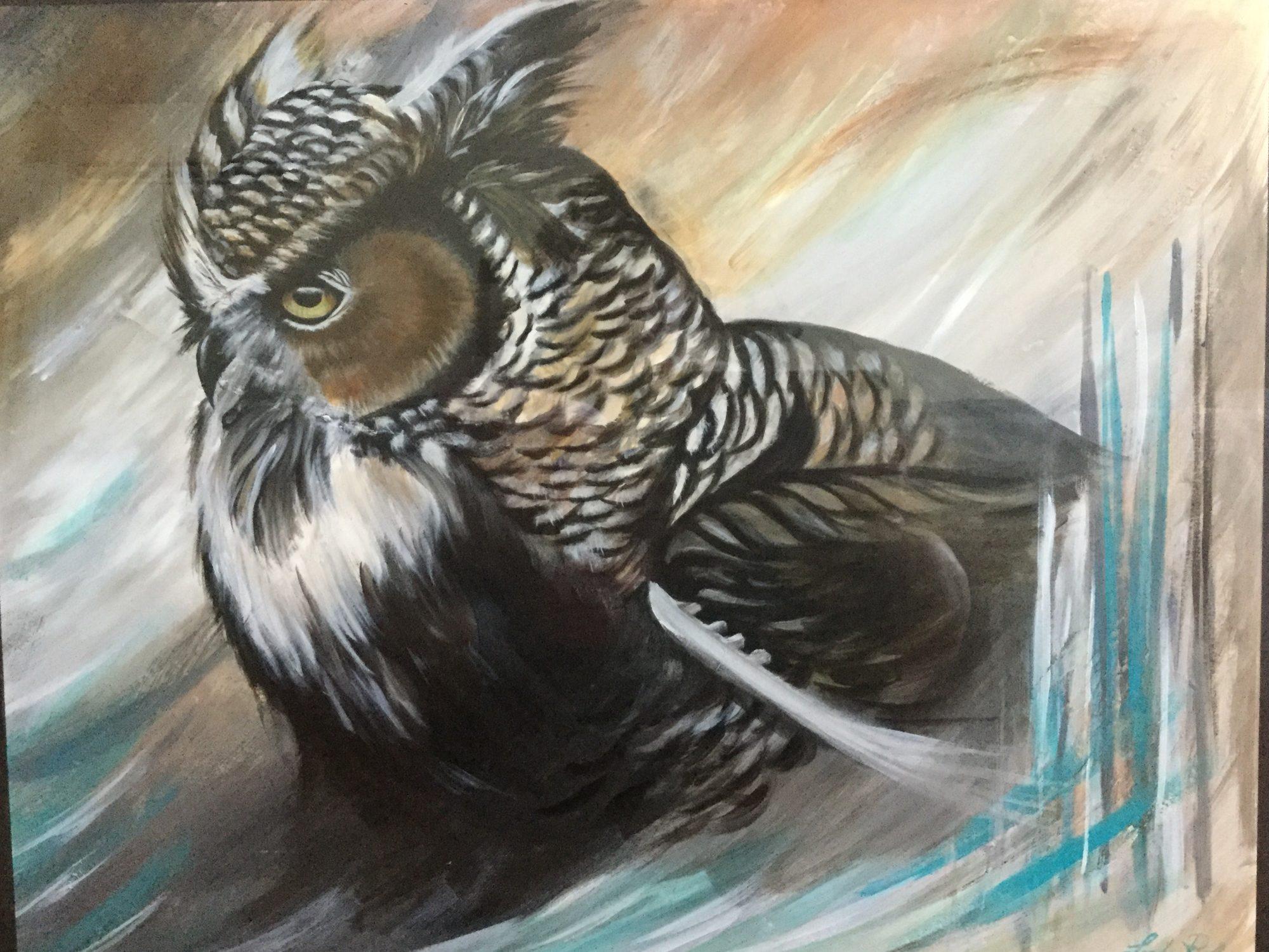 Linda Patenaude, artiste peintre